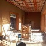 Extension ossature bois paille