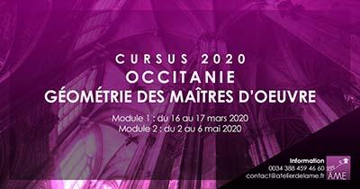 Formation en 2020 de géométrie sacrée en région Occitanie