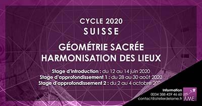 Formations en 2020 de géométrie sacrée en Suisse