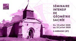 Séminaire intensif en 2020 de géométrie sacrée en France