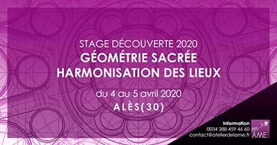 Stage de découverte de la géométrie sacrée à Alès